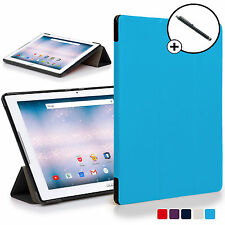 Forefront Cases® Blue Origami Smart Case Cover Acer Iconia One 10 B3-A30 Stylus