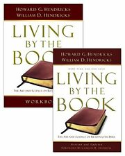 LIVING BY THE BOOK - Book & Workbook Howard Hendricks NEW