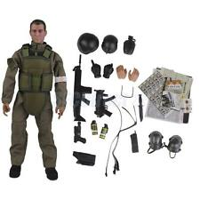 1:6 Field Medic Soldier Action Figure Model Military Combat Suit Wargame Toy
