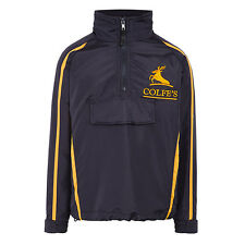 COLFE'S SCHOOL FULL TRACKSUIT. TOP & BOTTOMS. NAVY BLUE / YELLOW SIZE 30  BNWT