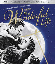 IT'S A WONDERFUL LIFE (Blu-ray Disc, 2016, 2-Disc Set) New / Factory Sealed