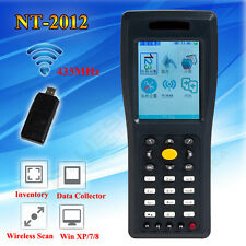 New Wireless Laser Barcode Scanners Inventory Scanning 8M Date Collector NT-2012