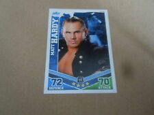 Carte catch Slam Attax Mayen 2010 Bleu - Matt Hardy
