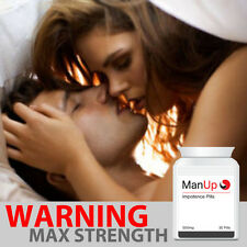 MAN UP ERECTION PILLS MALE IMPOTENCE SAFE HERBAL GET ROCK HARD PENIS FAST