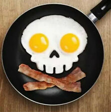 DIY Silicone Skull Egg Fried Mould Shaper Ring Kitchen Ware Tool