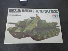 TAMIYA 35093 1/35 - RUSSIAN TANK DESTROYER SU122 - model kit  NEW Sealed