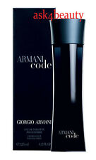 Armani Code By Giorgio Armani 4.2oz/125ml Edt Spray For Men New In Box