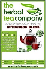 Organic Raspberry Leaves Afternoon Blend Tea Bags Sample 5 Pack