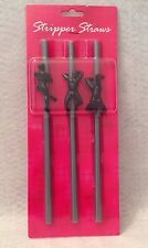 Stripper Straws Male Review Girls Birthday Gag Gift Hot Sexy Bachelorette Party