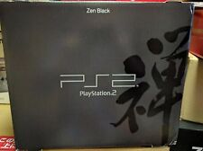 Playstation 2 Zen Black Console System Japan PS2 *BOXED - MAIN UNIT NEAR MINT*