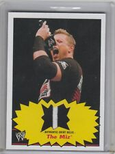 2012 TOPPS WWE HERITAGE THE MIZ 2 COLOR SHIRT RELIC