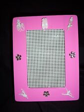 pink ballet dancer earring earrings holder organizer storage handmade
