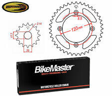 Chain and Sprocket 14 47 Fits Yamaha Yz85 2002-2007 2008 2009 2010 2011 2012