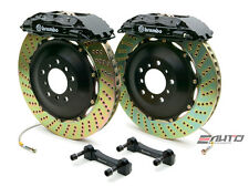 Brembo Rear GT BBK Brake 4piston Black 380x32 Drill Disc Rotor Hummer H2 03-07