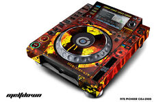 Skin Decal Sticker Wrap for Pioneer CDJ 2000 Turntable DJ Mixer Pro Audio MLTDWN