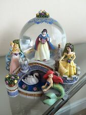 Disney Princess Garden Snow globe