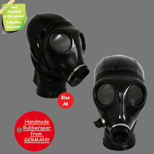Heavy Latex Rubber Gas Mask - Latexmaske Gasmaske - Typ: I3 - Size: M