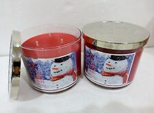 2 'Tis The Season Bath & Bath & Body Works Scented Candle 14.5 Oz ea NEW!