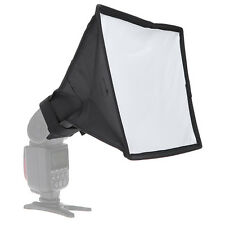 20 x 30cm Universal Foldable Flash Diffuser Softbox for Canon Nikon Sony Pentax