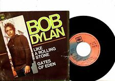 BOB DYLAN EP PS Like A Rolling Stone SPAIN CBS 6107 rare Spanish cover!!