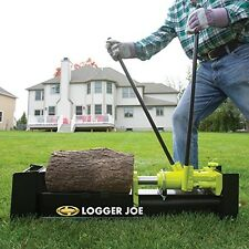 Powerful Log Splitter Wood Cutter Manual Yard Tools Firewood Trees Fuel 10 Ton