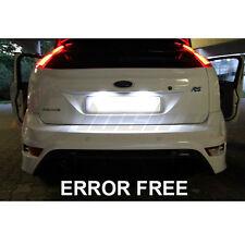 C5w ford focus xenon Cool Blanco LED Número De Matrícula Bombillas Libre De Errores