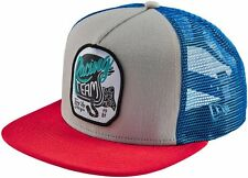 Troy Lee Designs Mens Throttle New Era Snap Back Adjustable Hat Stone