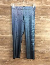 Zara Terez Soul Cycle Womens Water Drop Capri Leggings sz Medium Fitness