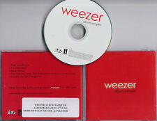 WEEZER Red Album Sampler 2008 UK 5-track promo only CD