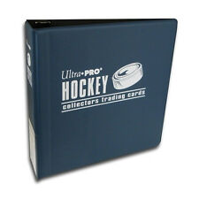 "lot of 10 Ultra Pro 3"" Hockey Trading Card Collector's Album (Blue) Binders New"