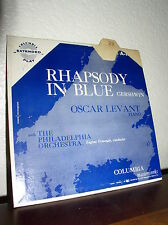 Rhapsody in Blue: Philadelphia Orch.-Oscar Levant-Piano- 45 EP - Columbia A-1643