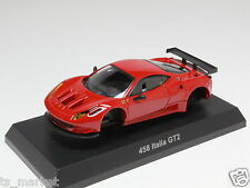 KYOSHO DIECAST CAR FERRARI COLLECTION 12 458 ITALIA GT2 RED 1/64 JAPAN