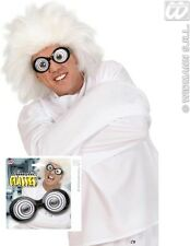 LUNATIC GLASSES SPECS FANCY DRESS FUNNY TOY MAD SCIENTIST WILLY WONKA SPIRAL FUN