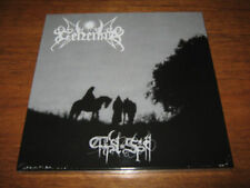 GEHENNA First Spell Black Sacred Heart Box Set SILVER LP mayhem sarcofago venom