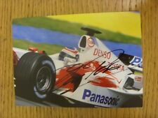1990's-2000 Formula 1 Autograph: Panis, Olivier - Hand Signed Glossy Photograph,