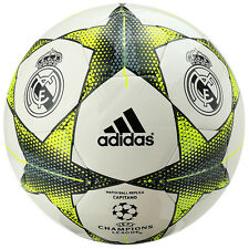 Adidas Finale 15 Real Madrid Capitano UEFA Soccer Ball Football S90220 Size5