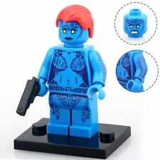 10PCS Set Mystique Figures Lot X-Men Super Hero Building Blocks Bricks Toy