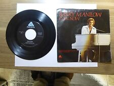 Old 45 RPM Record - Arista AS 0330 - Barry Manilow - Even Now / I Was a Fool