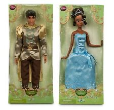 ~ Disney Princess and the Frog Prince Naveen & Tiana Barbie Doll figure set
