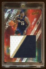 2009 ABSOLUTE LEBRON JAMES #D /5 JUMBO PATCH LOGO PRIME 3 COLOR BEAUTIFUL + RARE