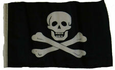 "12x18 12""x18"" Jolly Roger Pirate No Patch Sleeve Flag Garden"