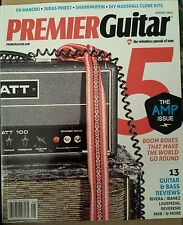 Premier Guitar Amp Issue Boom Boxes Reviews DIY Fu Manchu Aug 2014 FREE SHIPPING
