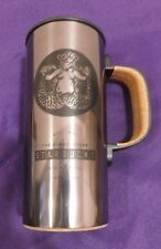 Starbucks Travel Mug Tumbler 2016 Stainless Cork @1st Store PIke Place Exclusive