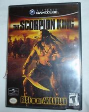 THE SCORPION KING RISE OF THE AKKADIAN Nintendo Gamecube Video Game Complete