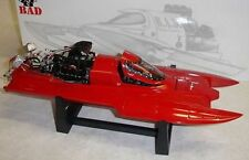 Bad Ass THF Dragboat in Red Blank. 1:18th. MIB. Discontinued and Hard To Find.