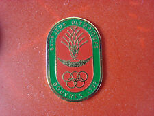 pins pin sport jeux olympique douvres 1992