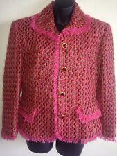 Oscar de la Renta Studio Stunning Blazer/ Jacket Size 12 Multi/Pink