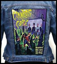 CANNABIS CORPSE ---Giant Backpatch Back Patch /Dethklok Gorepot Ghoul Autopsy