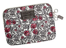 COACH Poppy Floral Graffiti Print Laptop Sleeve/Case