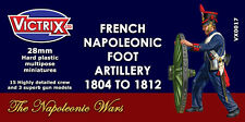 FRENCH NAPOLEONIC FOOT ARTILLERY 1804 - 1812 - VICTRIX MINIATURES